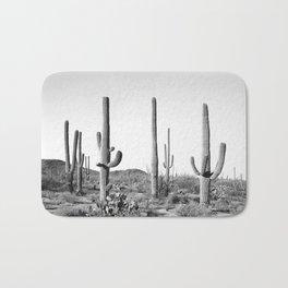 Grey Cactus Land Bath Mat