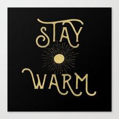 Stay Warm Canvas Print