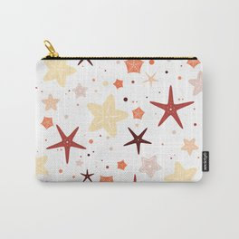 Seastars Pattern - Warm Carry-All Pouch