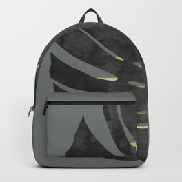 Tropical and golden I Backpack