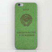 soviet iPhone & iPod Skins featuring Soviet prove by KRADA ZHAN ART
