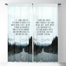 Quote for The Road Blackout Curtain