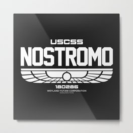 USCSS Nostromo 180286 Metal Print