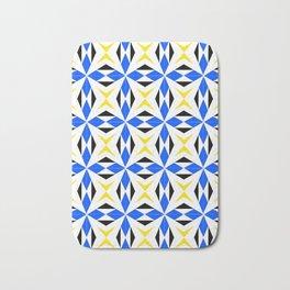 symetric patterns 9 -mandala,geometric,rosace,harmony,star,symmetry Bath Mat