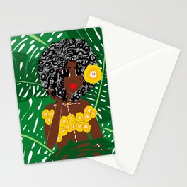 Tropical Gal Stationery Cards