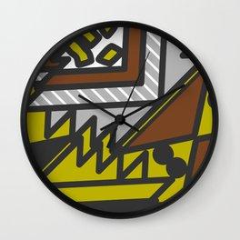 Geometric confusion Wall Clock