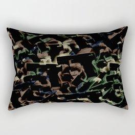 Gun Camo Rectangular Pillow