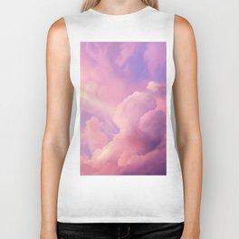 Clouds 1 Biker Tank