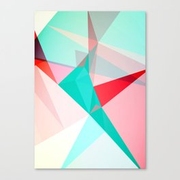 FRACTION - Abstract Graphic Iphone Case Canvas Print