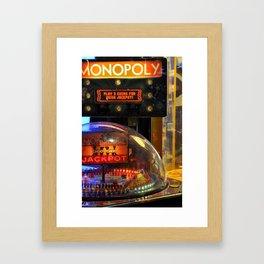 At The Arcade II Framed Art Print