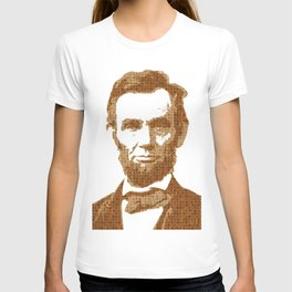 Scrabble Abraham Lincoln T-shirt