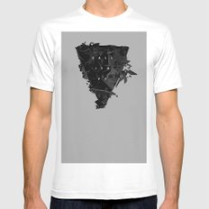 Call It Off MEDIUM Mens Fitted Tee White
