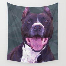 Boss Dog Wall Tapestry
