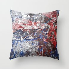 SupermanAbstract Throw Pillow