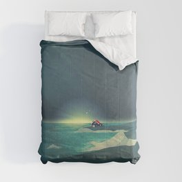 House by the Sea Comforters
