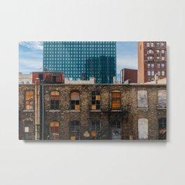 Downtown Milwaukee Metal Print