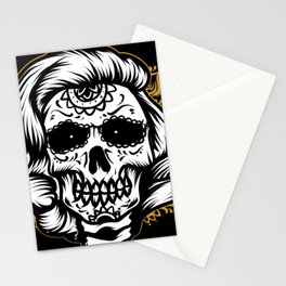 Marlyn skull Stationery Cards