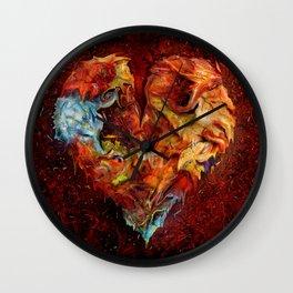 Liebesphasen ! Wall Clock