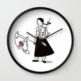 19190301KR Wall Clock