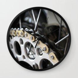 Chains Wall Clock