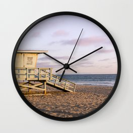 Manhattan Beach Wall Clock