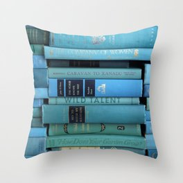 Wild Talent in Teal Throw Pillow