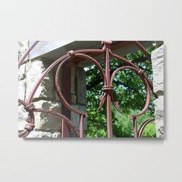 The Iron Gate I Metal Print