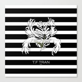 IRIS STRIPE Canvas Print