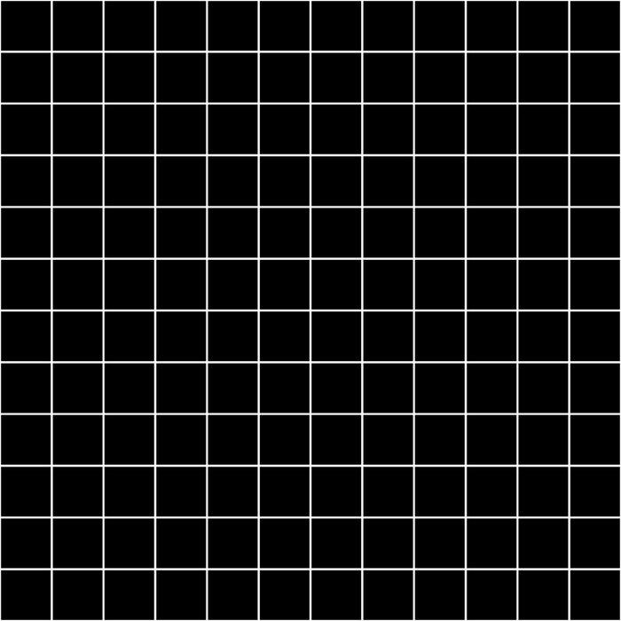 Grid Simple Line Black Minimalist Duvet Cover