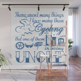 Cycling Uncle Wall Mural