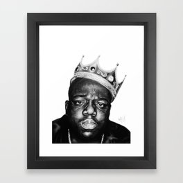 """It was all a dream"" Framed Art Print"