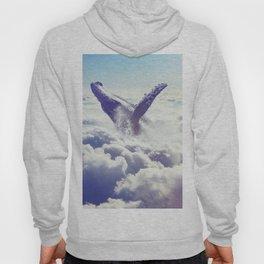 Cloudy whale Hoody