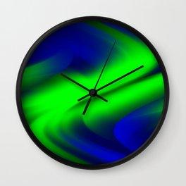 DREAM PATH (Blues & Greens) Wall Clock