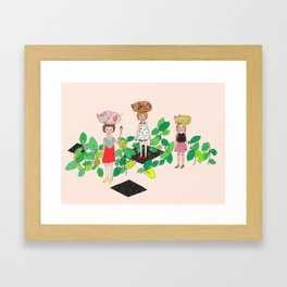 Cat Nip Framed Art Print