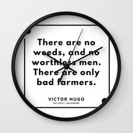 50    Victor Hugo Quotes   190830 Wall Clock