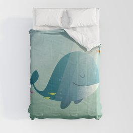 Whale print Comforters