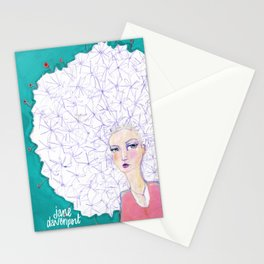 Puffball by Jane Davenport Stationery Cards