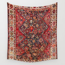 Qashqa'i Fars Southwest Persian Nomad Rug Print Wall Tapestry
