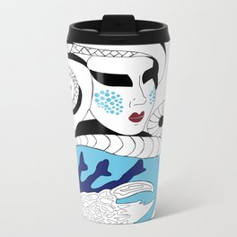 Cancer / 12 Signs of the Zodiac Metal Travel Mug