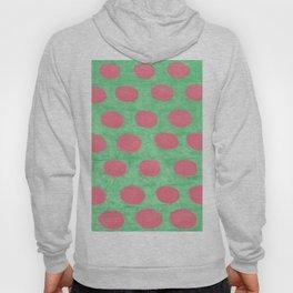 Pink and Green Polka Dots Hoody