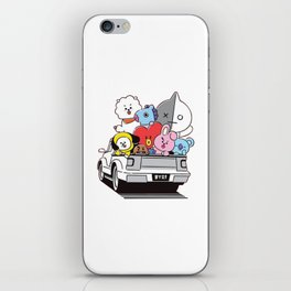 BT21 bts iPhone Skin