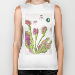 Venus Eye Trap Biker Tank