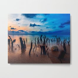 Among the Roots Metal Print