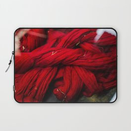 Red Dyeing Laptop Sleeve