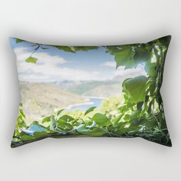A window to the river Rectangular Pillow