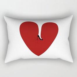 Heel my heart Rectangular Pillow