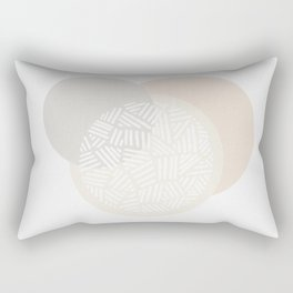 Minimalist Geometric IV Rectangular Pillow