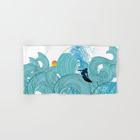surfing 2 Hand & Bath Towel