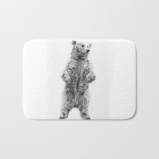 Bear Bath Mat