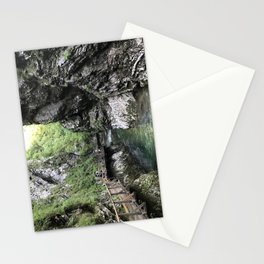 Hiking through the Gorge Stationery Cards